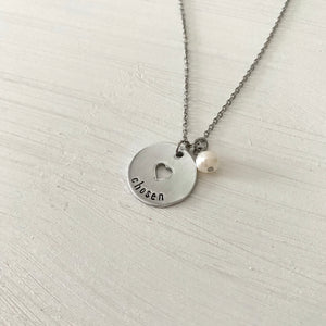 Grow In My Heart Necklace - SoulCysterCreations