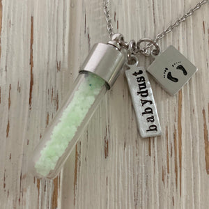 Glow in the Dark Star Baby Dust Necklace