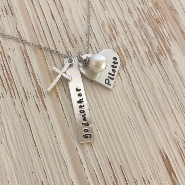 Godmother Godchild Necklace - SoulCysterCreations