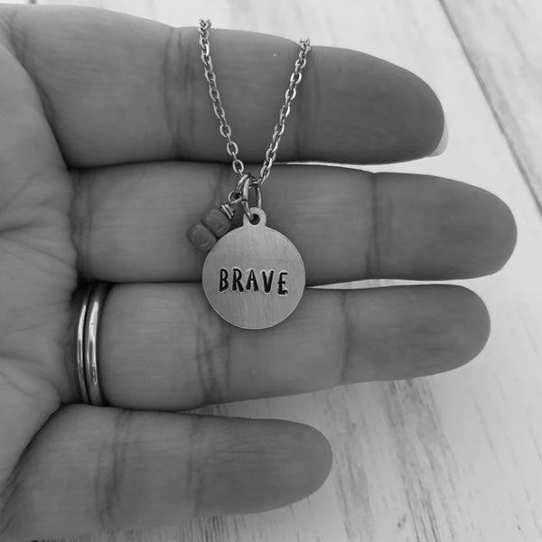 Brave Necklace - SoulCysterCreations