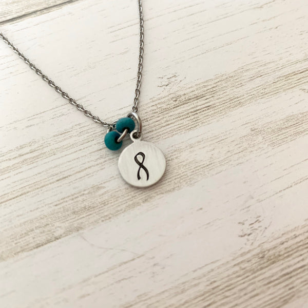 Awareness Ribbon Necklace - SoulCysterCreations