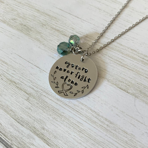 Cysters Never Fight Alone Necklace - SoulCysterCreations