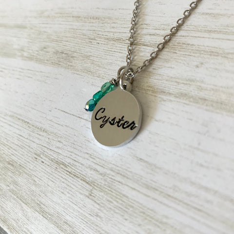 Cyster Necklace