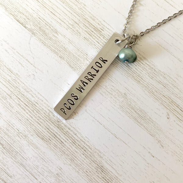 PCOS Warrior Necklace - SoulCysterCreations