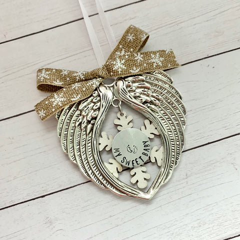 Snowflake Memorial Ornament - SoulCysterCreations