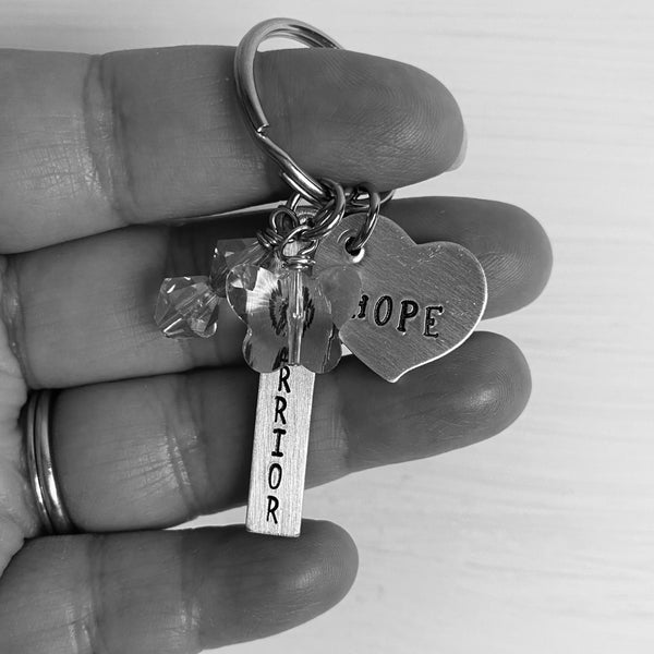 Infertility Warrior of Hope Keychain - SoulCysterCreations