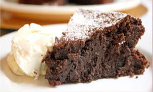 Flourless Chocolate Mud Cake - Gluten Free