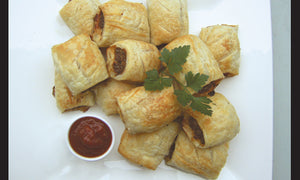 Sausage Rolls with Seed or Nut Flour