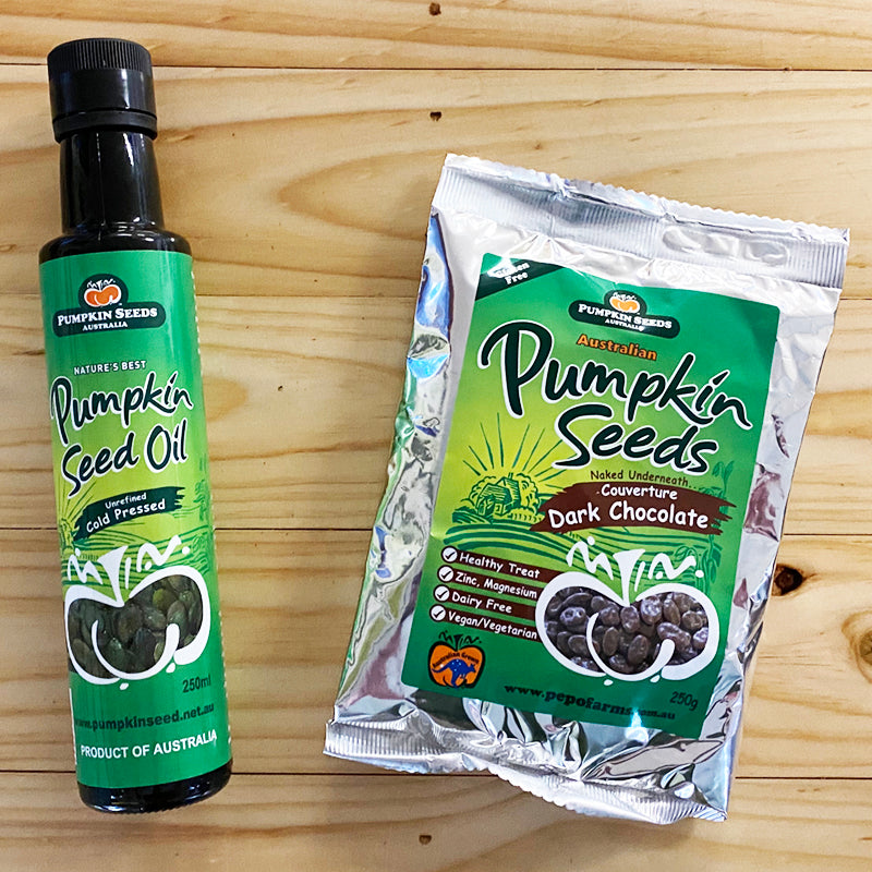 Pumpkin Seed Oil & Free Chocolate!