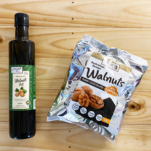 Walnut Oil & Free Chocolate!