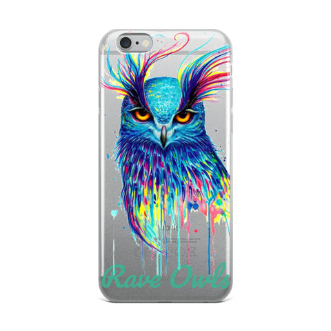 Rave Owls iPhone Case - rave owls