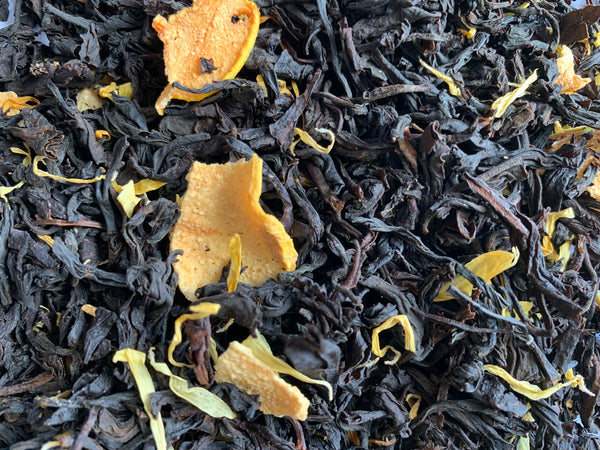Tea Blend No. 4 – Whole Leaf Ceylon / Quince / Calendula / Vanilla