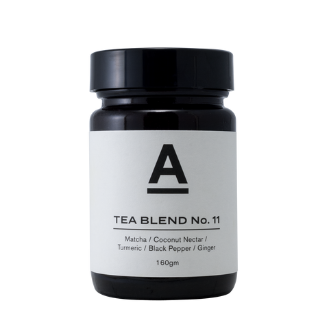 Tea Blend No. 11 – Matcha / Coconut Nectar / Turmeric / Ginger / Black Pepper