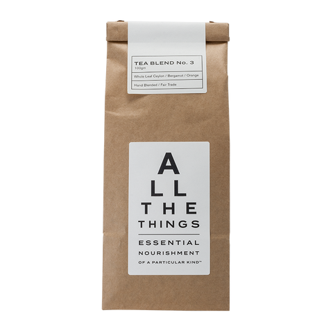 Tea Blend No. 3  – Whole Leaf Ceylon / Bergamot  / Orange