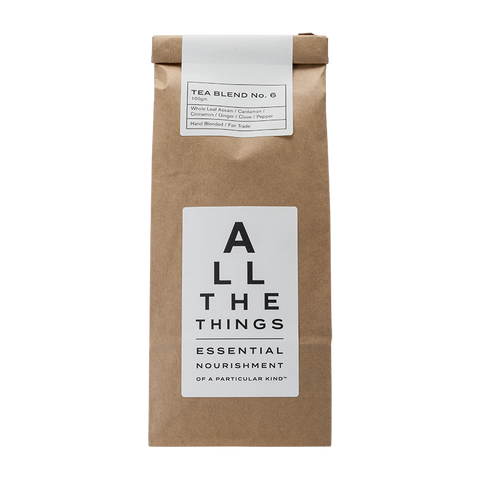 Tea Blend No. 6 – Whole Leaf Assam / Cardamon / Cinnamon / Ginger / Clove / Pepper