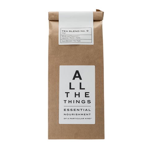 Tea Blend No. 9 – Whole Leaf Peppermint / Liquorice / Fennel / Nettle