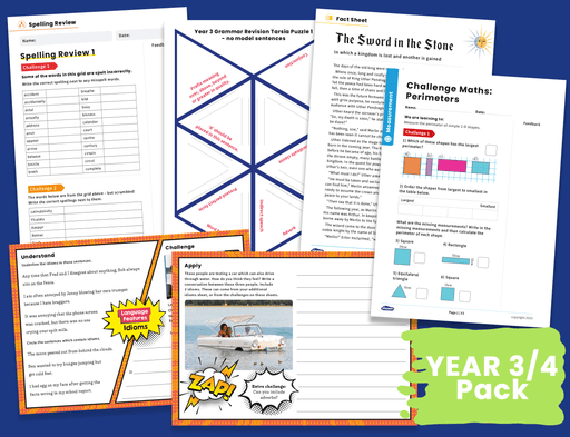 Years 3/4 Home Learning Pack (1)