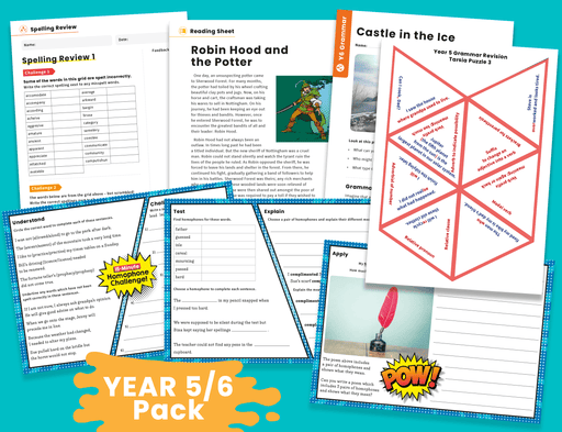Years 5/6 Home Learning Pack (1)