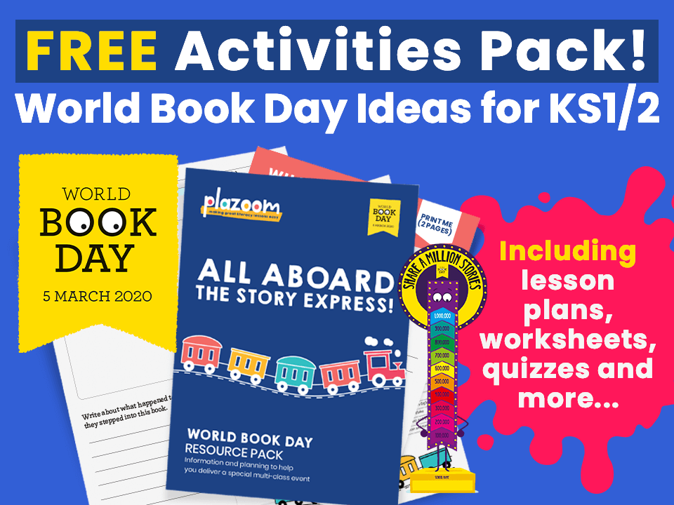 World Book Day Ideas – FREE Activities Pack!