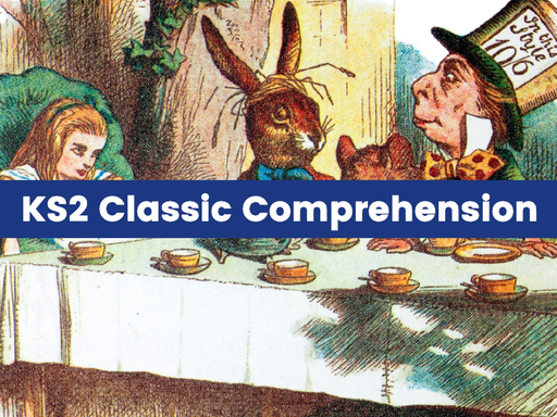 Classic Text Reading Comprehension Pack: Alice in Wonderland, Dracula, and the Hound of the Baskervilles