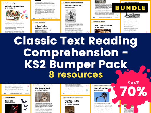 Classic Text Reading Comprehension - KS2 Bumper Pack