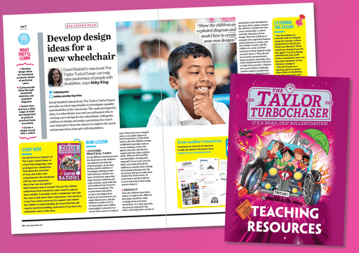 KS2 English Lesson Plan & Activities – The Taylor TurboChaser by David Baddiel