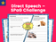 Direct Speech – SPaG Challenge Mat