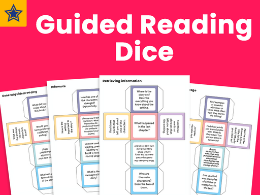 Guided Reading Dice