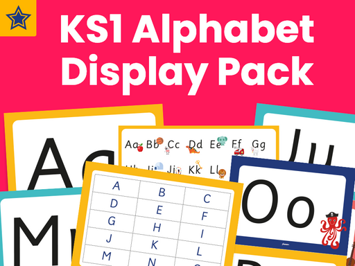 KS1 Alphabet Display Pack