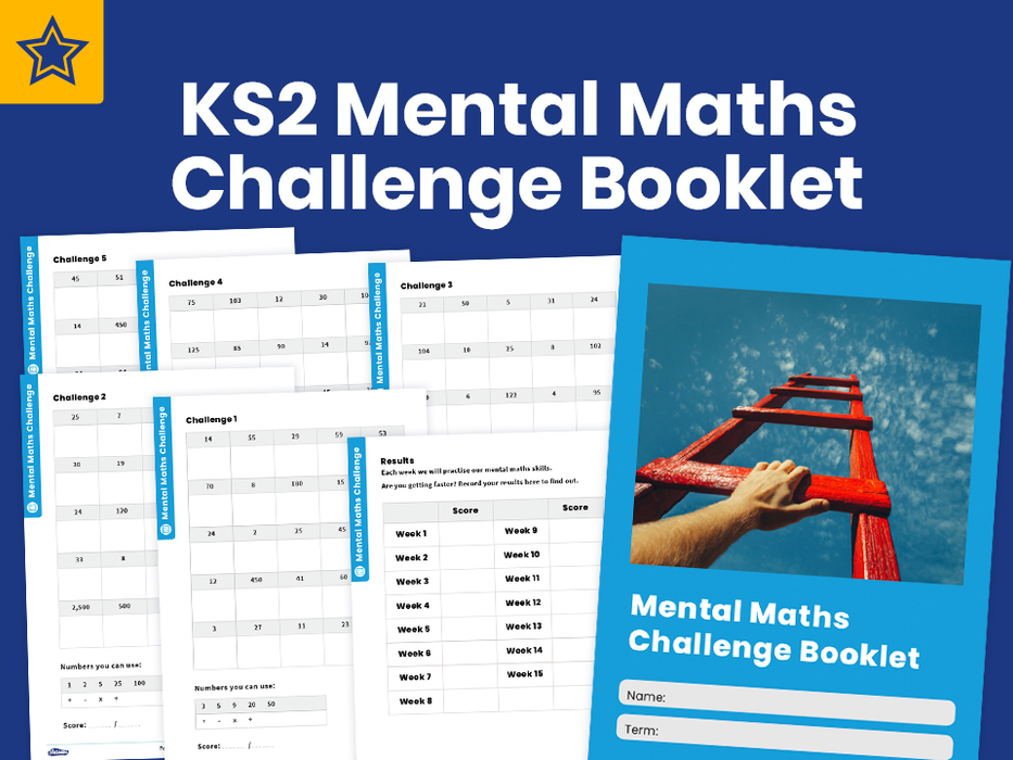 KS2 Mental Maths Challenge Booklet