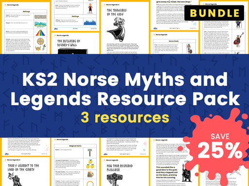 KS2 Norse Myths and Legends Resource Pack