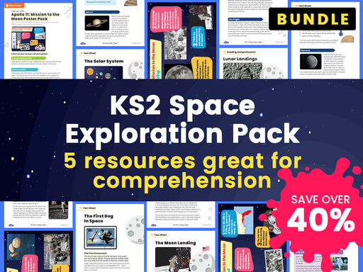 KS2 Space Exploration Pack – 5 Science Resources