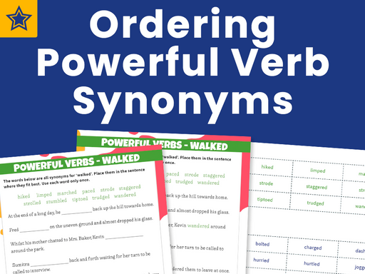 Ordering Powerful Verb Synonyms