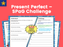 Present Perfect – SPaG Challenge Mat