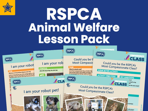 RSPCA Animal Welfare Lesson Pack