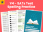 SATs Test Spelling Practice - Year 4