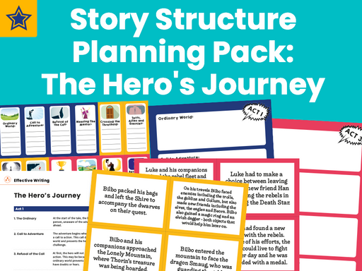 Story Structure Planning Pack: The Hero's Journey