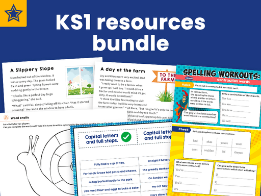 KS1 Resources Bundle