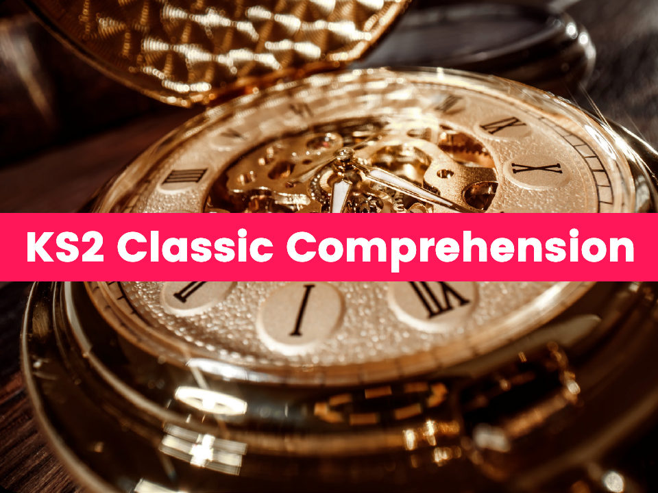 KS2 Classic Text Reading Comprehension Pack: Kidnapped, Oliver Twist, and the Time Machine