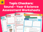 Topic Checkers: Sound - Year 4 Science Assessment Worksheets