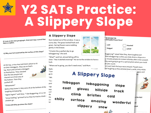 Y2 SATs Practice Pack A Slippery Slope