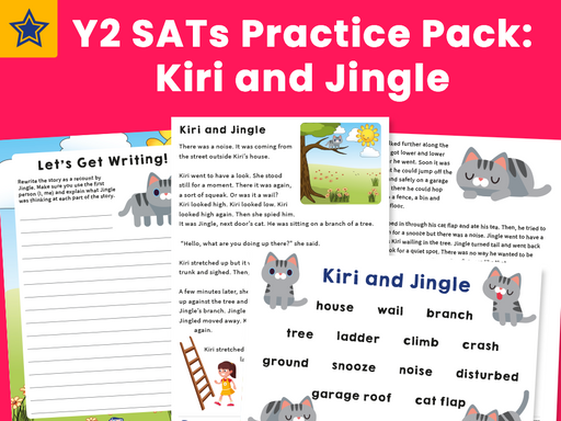 Y2 SATs Practice Pack: Kiri and Jingle