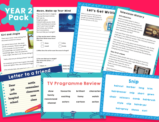 Year 2 Home Learning Pack (1)