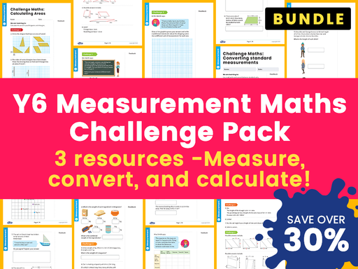 Y6 - Measurement - Maths Challenge Pack