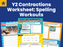 Year 2 Contractions Worksheet Spelling Workouts
