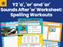 Year 2 'a', 'or' And 'ar' Sounds After 'w' Worksheet: Spelling Workouts