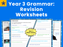 Year 3 Grammar: Revision Worksheets