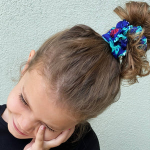 Emma's scrunchie jungle accessory The Extra Smile