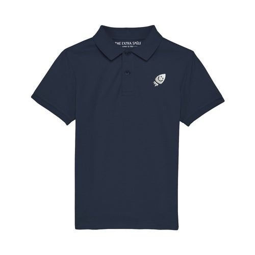 Pre-order Oscar Polo Shirt Navy Blue shirt The Extra Smile 3-4 / Navy blue