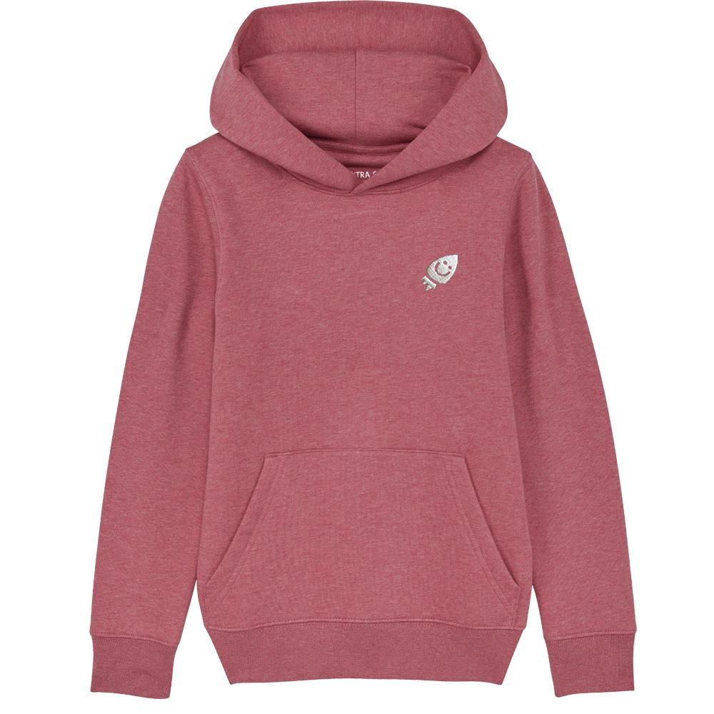 Pre-Order Raven's hoodie Cranberry The Extra Smile 3-4 cranberry